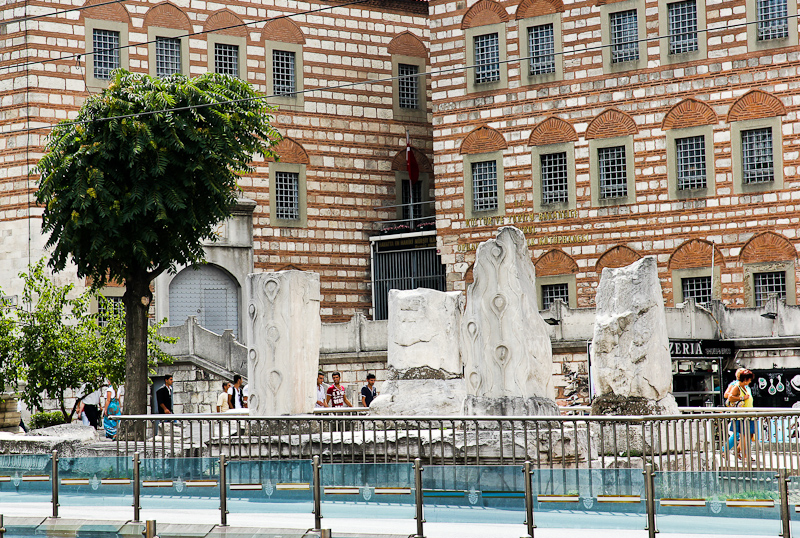 Развалины форума Феодосия